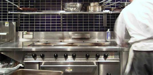厨房機器はリサイクル店に