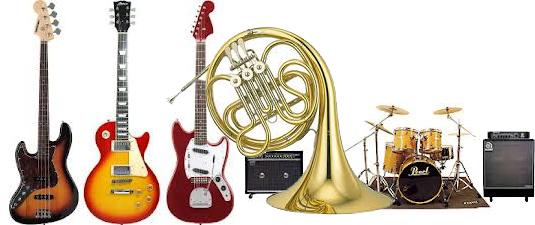 楽器はリサイクル業者から